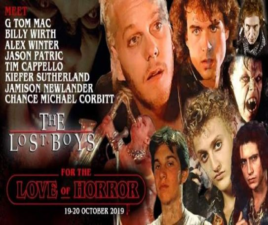 Sleep all day!? No chance. Not at this weekend! Where everyone will be partying, long in to the night.... For The Love of Horror 2019 comes to Manchester next weekend