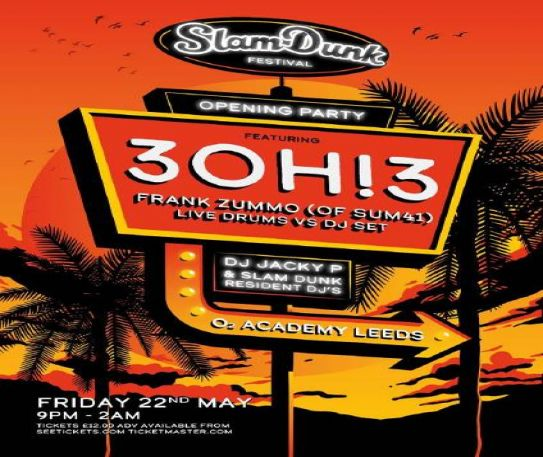 Slam Dunk Festival 2020 reveals Opening Party details and line-up