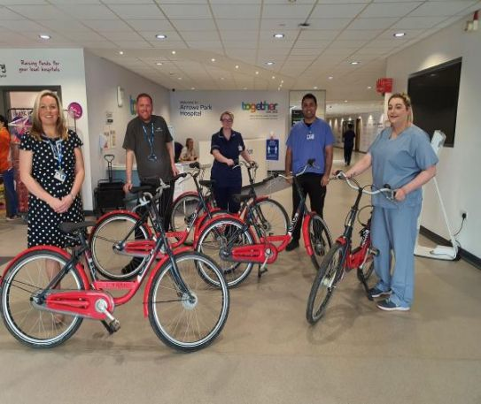 Local company pledges bikes for Merseysides NHS Heroes