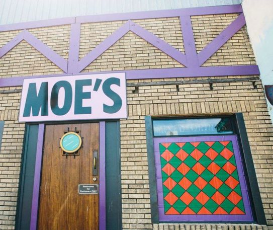 The Simpsons In Real Life - Moe's Bar Pop Up in Liverpool