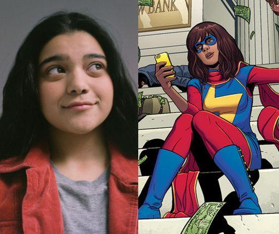 Marvel Studios' Ms. Marvel: Iman Vellani cast as Kamala Khan