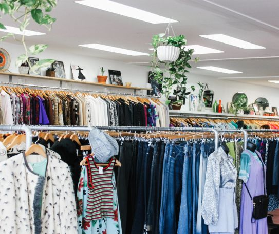 Are charity shops sustainable?