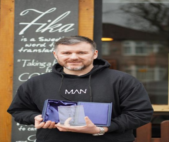 FIKA cafe owner receives award for the help provided to the people of Liverpool