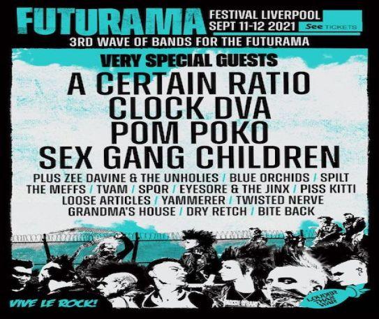Futurama Festival - 3rd wave of artists & day splits announces for September