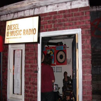 Diesel's very own Radio store (Pic by Jay Ledsham)