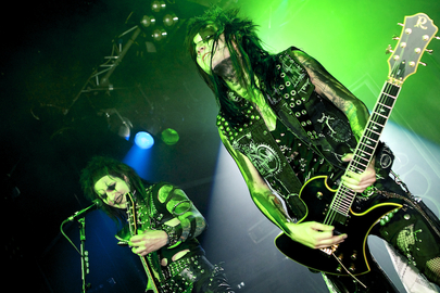 Black Veil Brides. Nottingham Rock City. © Lara Cullen
