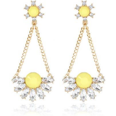 Earrings, River Island, �