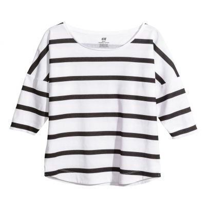Striped top, H&M, �99
