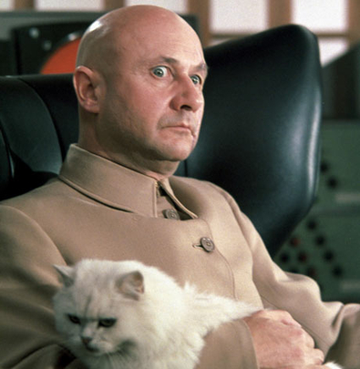 Donald Pleasence as Blofeld