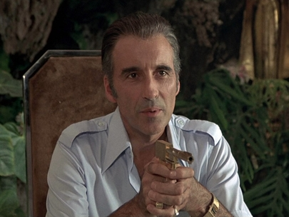 Christopher Lee as Francisco Scaramanga