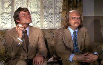 Bruce Glover and Putter Smith as Mr Wint and Mr Kidd
