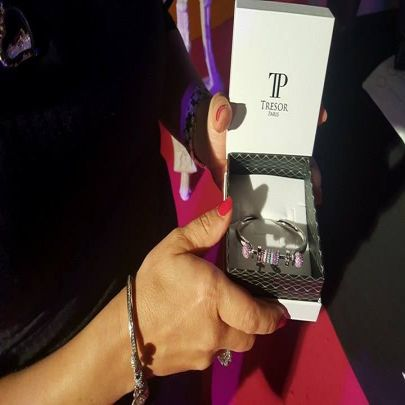 The sparkling charm bracelet from Trevor Paris that Little Mix want